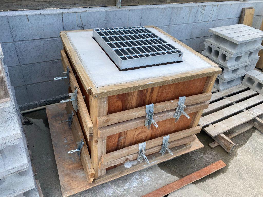 エスブロック沖縄 集水桝自主製作