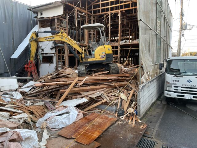 エスブロック 解体工事